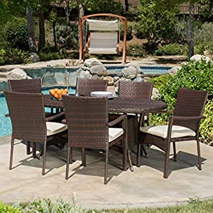 61G4XXYEEhL._SS300_ Wicker Dining Tables & Wicker Patio Dining Sets
