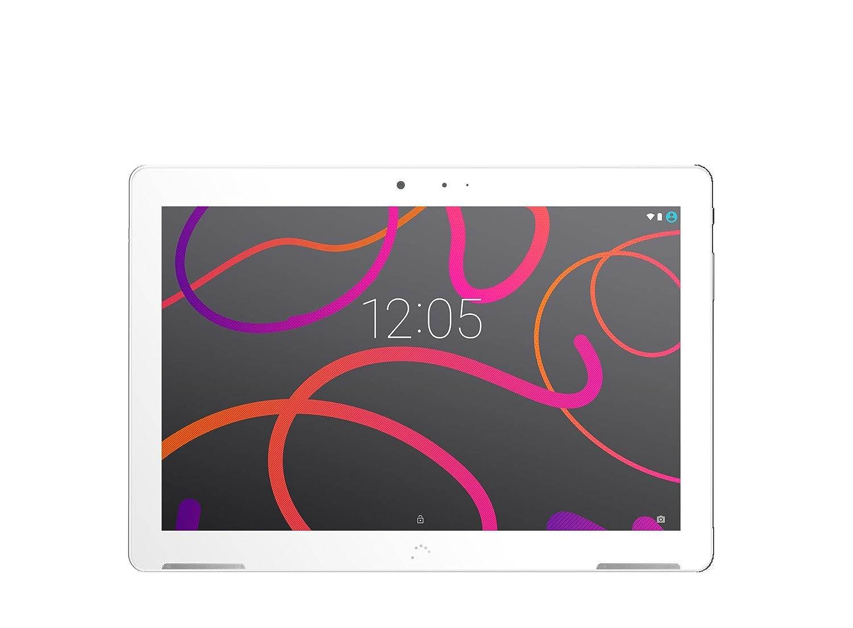 BQ Aquaris M10 - Tablet DE 10.1''(HD , WiFi, 2 GB de RAM, 16 GB de Memoria Interna, Android 5.1 Lollipop), Color Blanco B000150