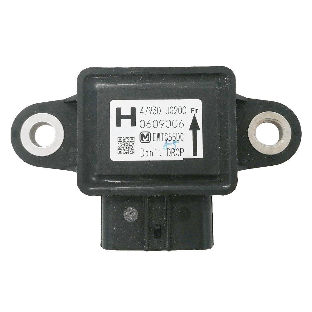 Automotive-leader 47930-JG200 6-Pin ABS Gravity Sensor for Nissan 2011-2015 Juke Leaf 1.6L 2010-2015 Rogue 2.5L 2012-2013 Infiniti 3.5L 47930JG200