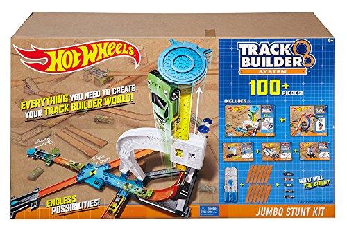 Stunt Track (Hot Wheels Track Builder Ultimate Jumbo Stunt Kit)