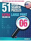 Sam's Extra Large Print Word Search Games, 51 Word Search Puzzles, Volume 6: Brain-Stimulating Puzzle Activities for…