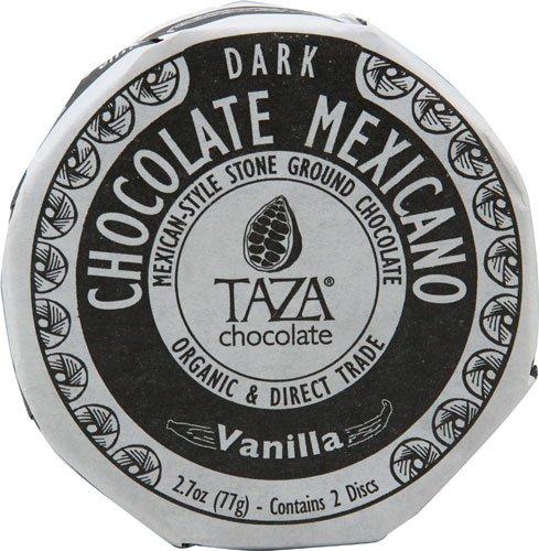 Taza Chocolate Organic Chocolate Mexicano Disc Vanilla -- 2.7 oz
