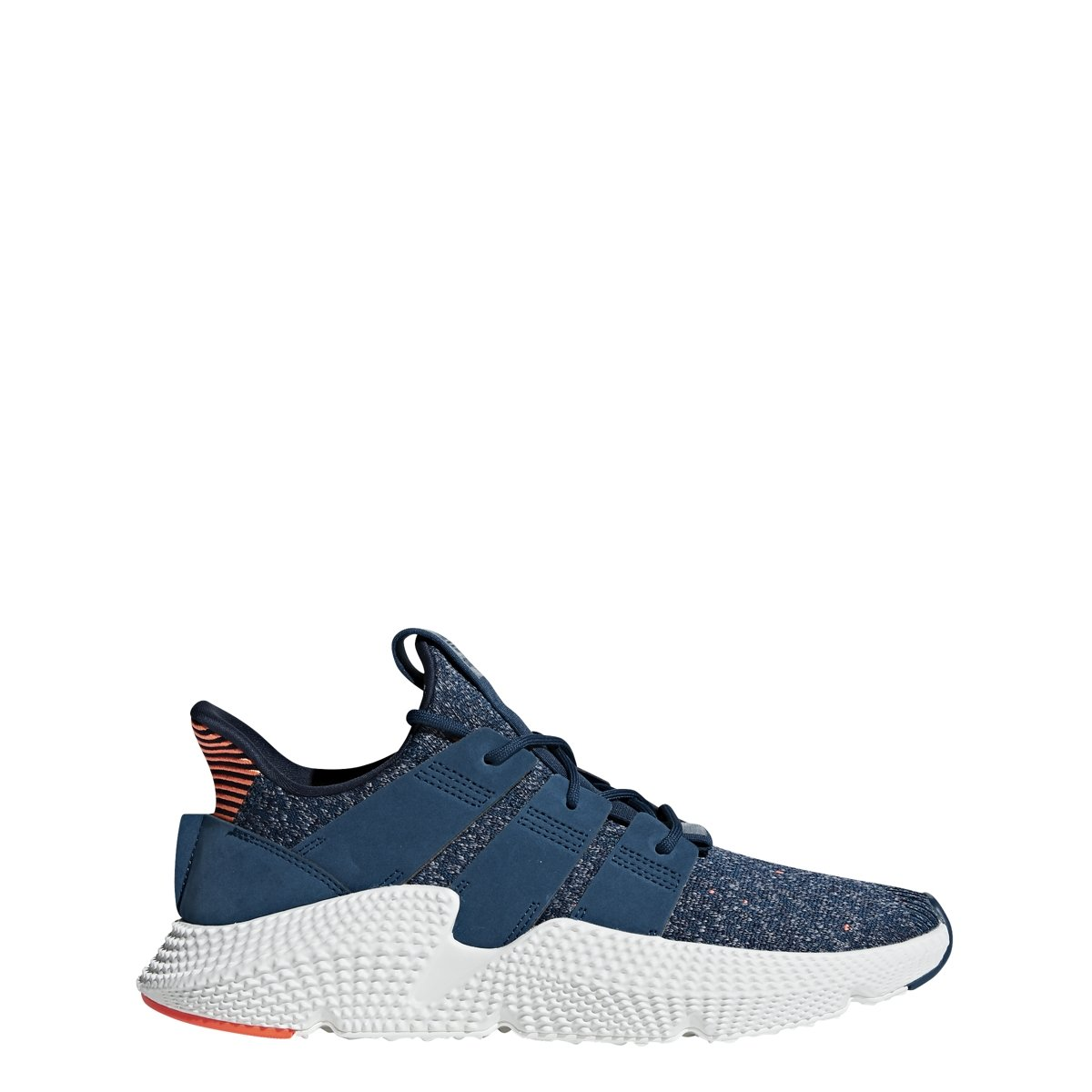 Amazon.com  adidas Originals Prophere Shoe Men s Casual 7.5 Blue Night-Hi  Res Orange  Shoes ba5ddd4ec