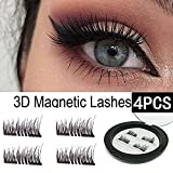 Amazon Price History for:HOBO Dual Magnetic Eyelashes - Ultra Thin Magnetic False 3D Eyelash (4 - piece), Best Reusable and Easy to Apply Ultra Thin Dual Magnet System