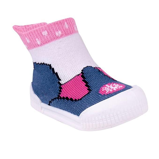 bestbewertetes Original günstig kaufen angemessener Preis Babysocken Laufsocken Schuhsocken mit Gummisohle für Mädchen ...