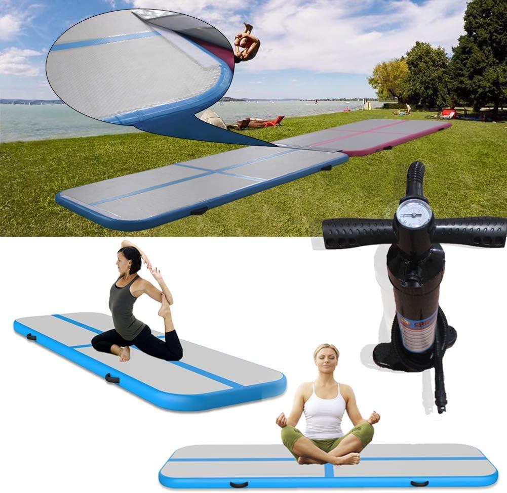 Amazon.com: KEMAX - Alfombrilla hinchable para yoga con ...