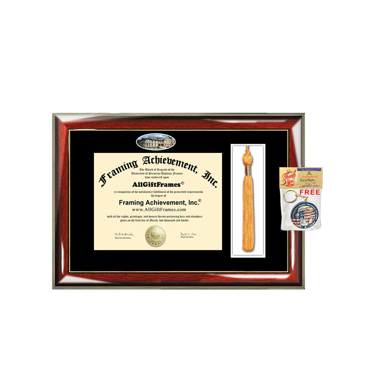 Amazon.com: North Dakota State University borla Diploma ...