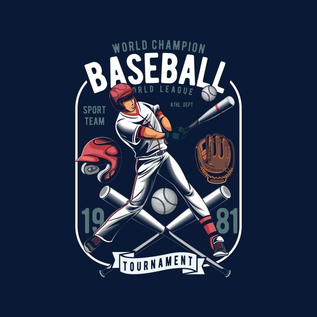 World Champion Baseball League Kids T-Shirt