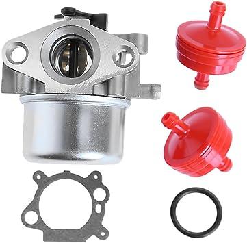 Amazon Com Carburetor For Craftsman For Briggs Stratton Gold 6 25 6 75 Hp Mrs Push Mower 675 190cc W Fuel Filter Automotive