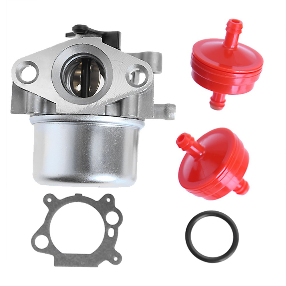 Carburetor for Craftsman Briggs&Stratton Gold 6.25 6.75 HP MRS Push Mower 675 190cc w/Fuel Filter