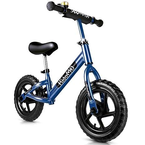 KidoMe 12 Bici sin Pedales Color Bicicleta de Blalance Equilibrio Altura Ajustable Acero al
