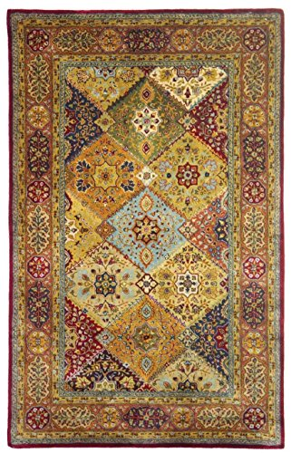Safavieh Persian Legend Collection PL512A Handmade Traditional Red and Rust Wool Area Rug (6