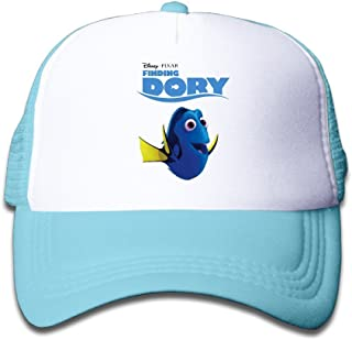 Hittings Youth Kids Geek Finding Dory Baseball cap Hat Snapback Skyblue Skyblue
