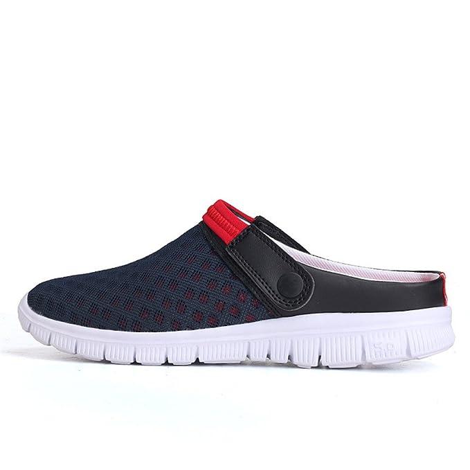 FELZ Zapatillas para Hombre Hombres Sandalia de Verano Malla ...