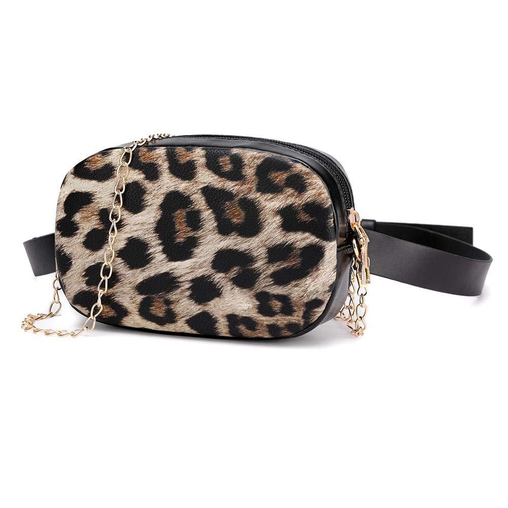 Snake Chain Shoulder Waist Bags Fanny Belt Packs Women Crossbody Chest Bags Messenger Bag