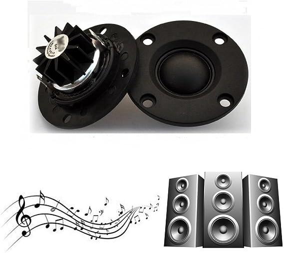 30W Hidream/®Dome Silk Film tweeter Speaker hifi treble With heatsink 2pcs 6