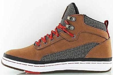 50% ceny szukać ponadczasowy design K1X Men's Trainers Dark Honey/Red: Amazon.co.uk: Shoes & Bags