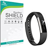 Fitbit Alta Screen Protector [7-PACK] [Military-Grade] RinoGear Premium HD Invisible Clear Shield w/ Lifetime Replacements