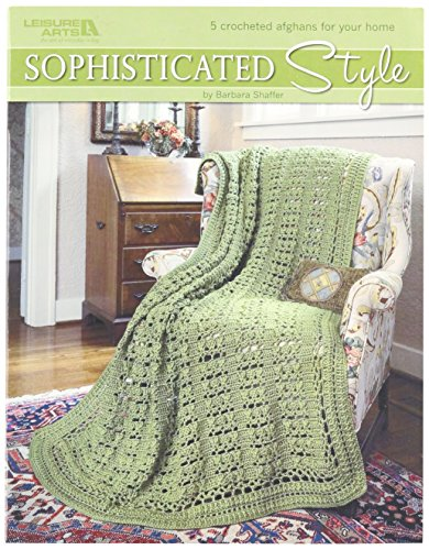 LEISURE ARTS-Sophisticated Style 5 Afghans - Leisure Arts Pad