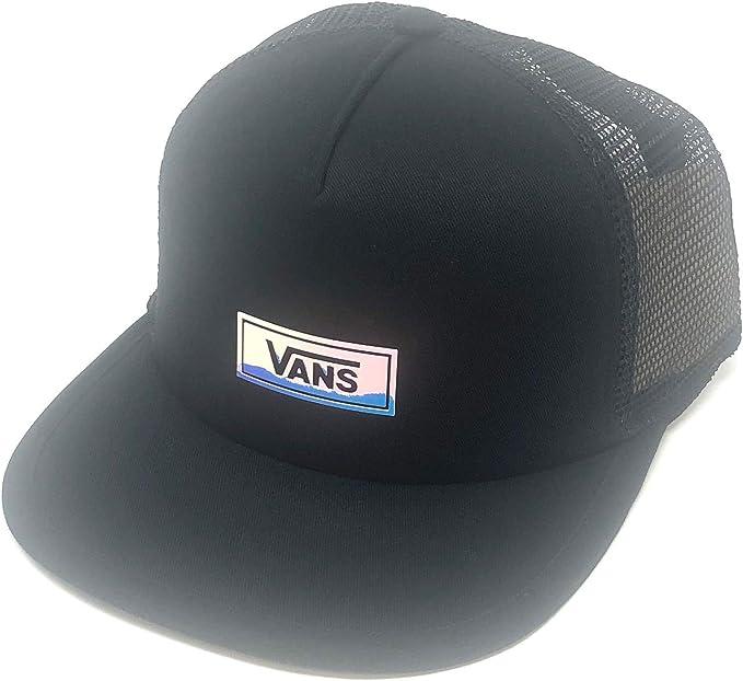 Vans Off The Wall Womens IRI Drop V Trucker Hat Cap - Black ...