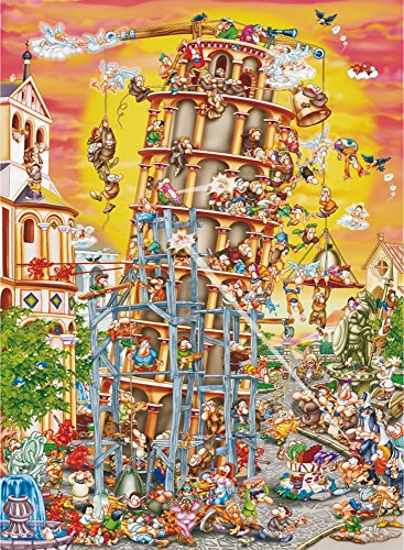 Building the Tower of Pisa (Cartoon Collection)