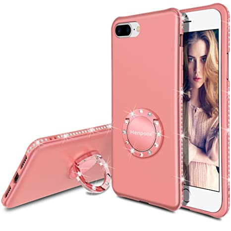 coque iphone 8 plus 360 degres paillette