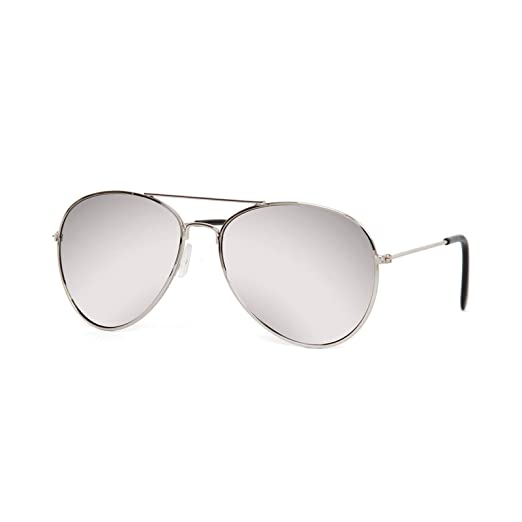 e2b970f608342 Image Unavailable. Image not available for. Color  Gravity Shades Aviator  Mirrored Lens Curved Sunglasses