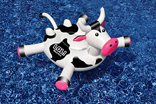 Swimline LOL Cow Inflatable Pool Float -