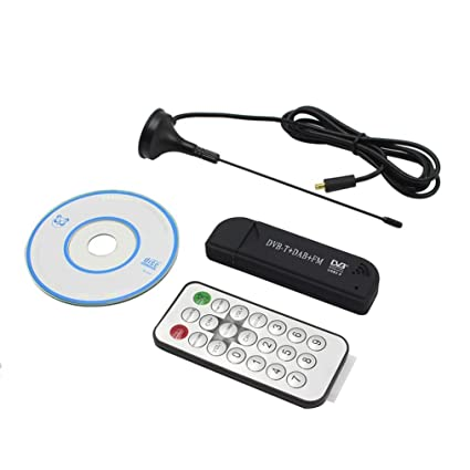 Mini USB Digital Portátil 2.0 Stick De TV DVB-T + DAB + FM +