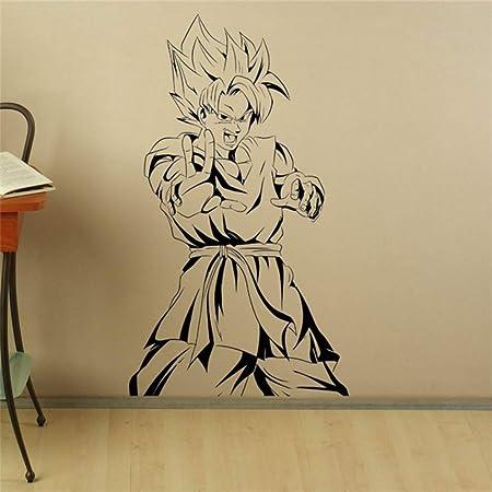 guijiumai Son Goku Tatuajes de Pared Manga Anime Vinilo Adhesivo ...