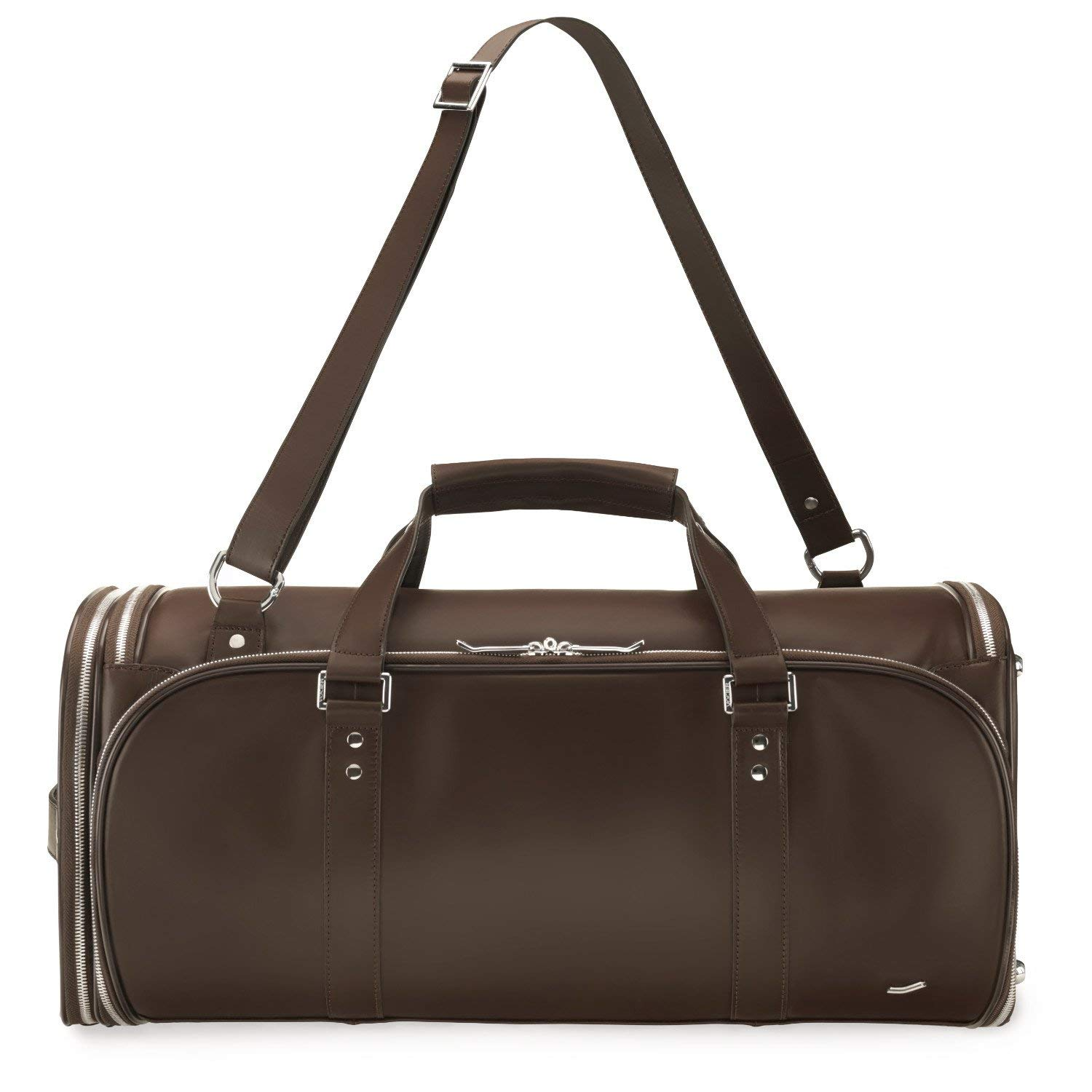 d67dcd8f20a Amazon.com | Vocier F35 Leather Travel Bag (Brown) | Carry-Ons