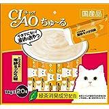 チャオ (CIAO) ちゅ~る とりささみ 海鮮ミックス味 14g 20本