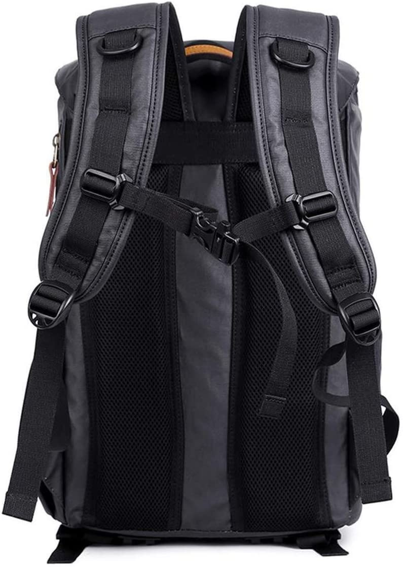 Large-Capacity Bag Outdoor Camera Backpack Laptop Tripod Lens and Accessories Casual Canvas SLR Camera Backpack 30 X 19 X 42 cm//Dark Blue Sports Backpack