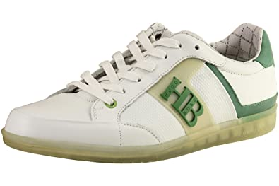 Hugo Boss Men's Sneakers Eldorado Contrast White Shoes Sz. 10