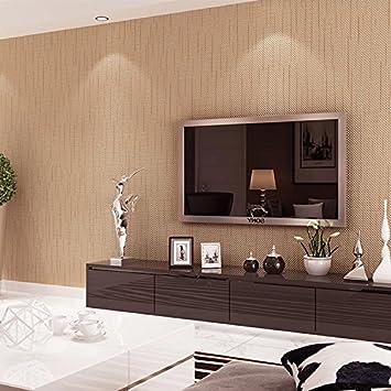 Einfache Moderne Farbe Vertikalen Streifen Aus Geprägte Tapete Dick  Deutlich Wohnzimmer Laden Dekoration Tapete Schlafzimmer,