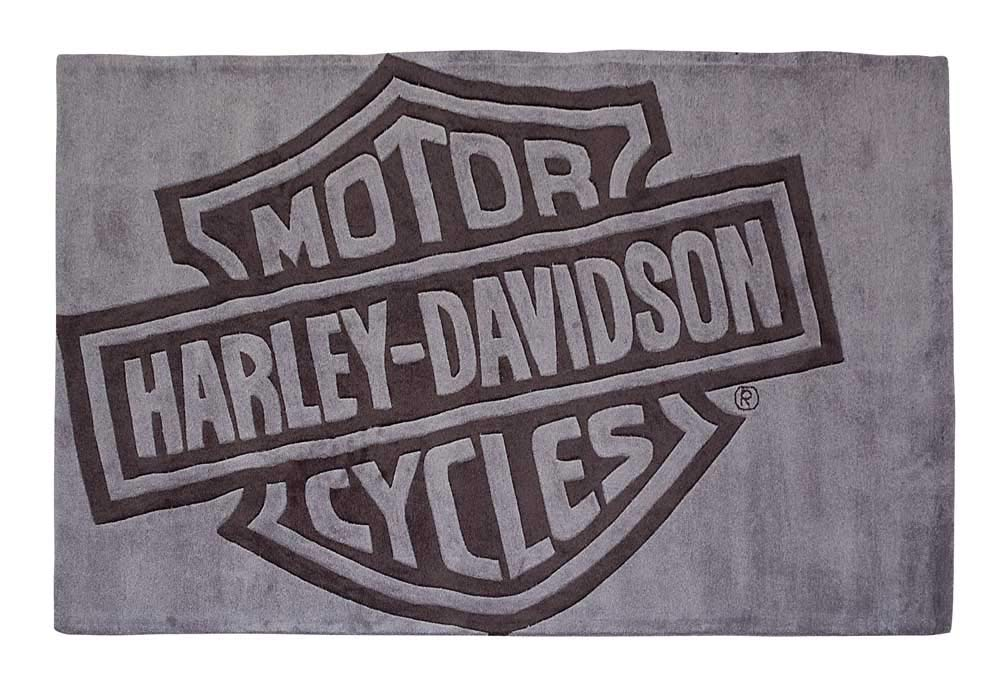 Amazon Com Large Harley Davidson Bar Shield Area Rug 8ft L X