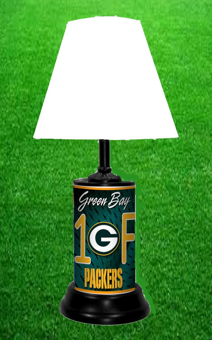 GREEN BAY PACKERS TABLE LAMP & Amazon.com : Green Bay Packers Neon Logo Desk Table Lamp Light ... azcodes.com