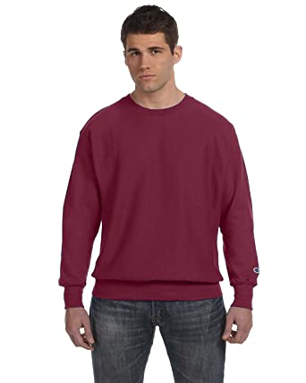 Champion 82/18 Reverse Weave Crew Sweatshirt at Amazon Men's ...