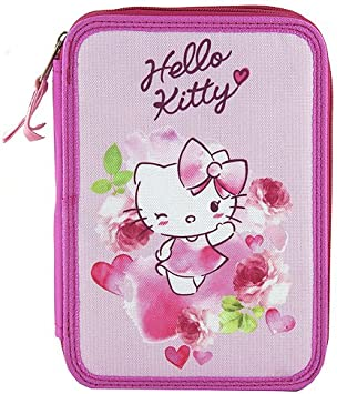 TARGET Hello Kitty Pencil Case Estuches, 22 cm, Rosa (Pink): Amazon.es: Juguetes y juegos