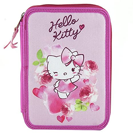 Target Hello Kitty Pencil Case Estuches, 22 cm, Rosa (Pink ...