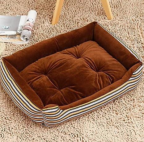 MwaaZ Camas para Gatos Sofás Four Seasons Universal Super Soft Dirty Dog Bed Productos para Mascotas