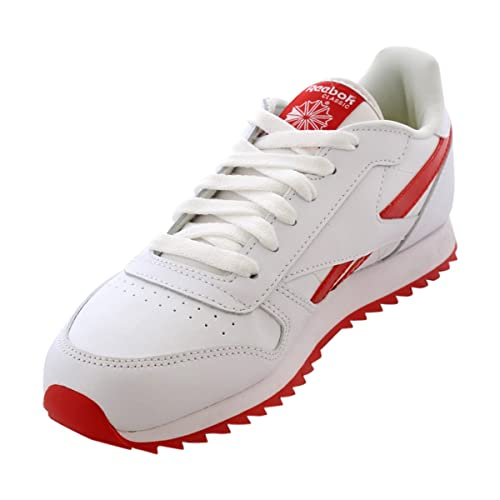 602685027c69 Reebok - Classic Leather Ripple III Sneaker (Big Kid) - White Red   Amazon.ca  Shoes   Handbags