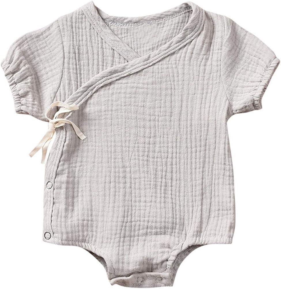 MAYOGO Ropa Bebe Niña Kimono Mameluco Ropa de Bebe Recién Nacido ...