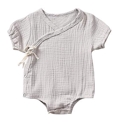 HEETEY Pijama para niña, recién Nacido, bebé, con diseño de Kimono ...