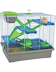 Pico XL Silver & Green - Hamster & Small Animal Home/Cage