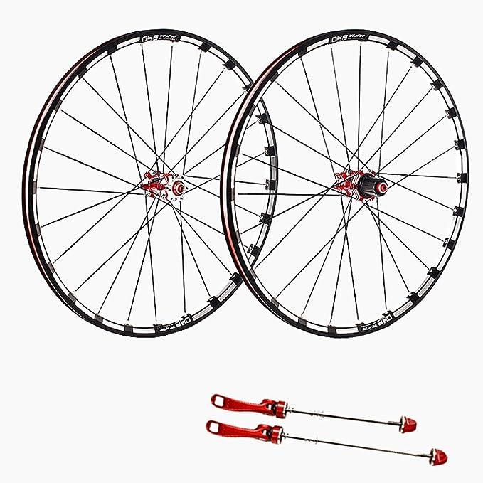 ZNND 26/27.5 Pulgadas Ciclismo Wheels, Aire Libre Ultra-Ligeras Rodamiento Sellado Compatibles 8/9/10/11 Velocidades: Amazon.es: Deportes y aire libre