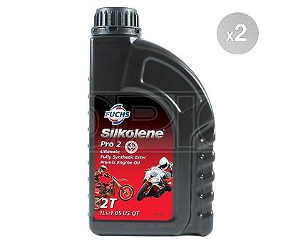 SILKOLENE Pro 2 Ultimate Full sintética Ester 2T Aceite de motor ...