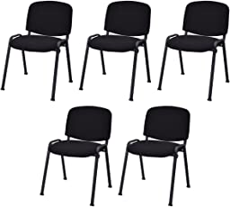 office guest reception chairs shop amazon com