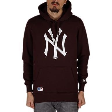 Sudadera capucha New Era - Mlb New York Yankees Po granate talla: L (Large): Amazon.es: Ropa y accesorios