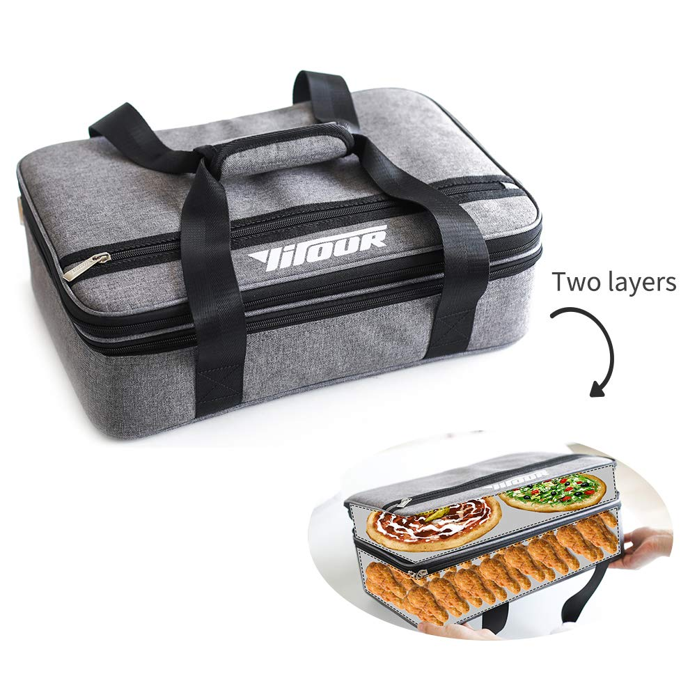 Amazon.com: Double Casserole Carrier Lasagna Lugger ...